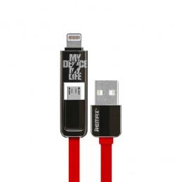USB кабель REMAX 2 в 1...