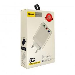 СЗУ CHARGER 5G 3 USB AR101